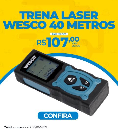 Trena Laser Wesco 40 metros
