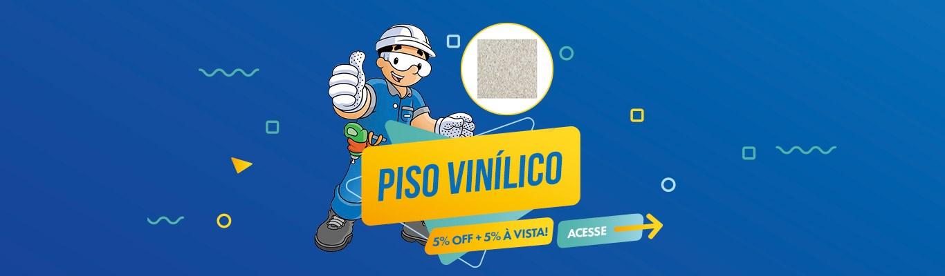 Pisos Vinílicos com 5% OFF