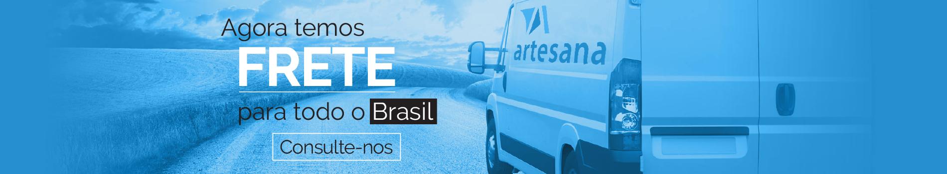 Frete para todo o Brasil