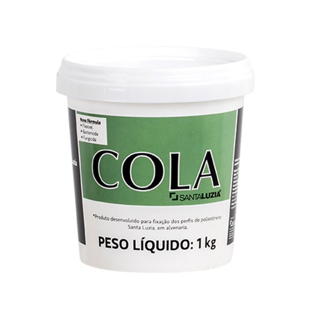 Cola para Rodapé 1Kg - Santa Luzia