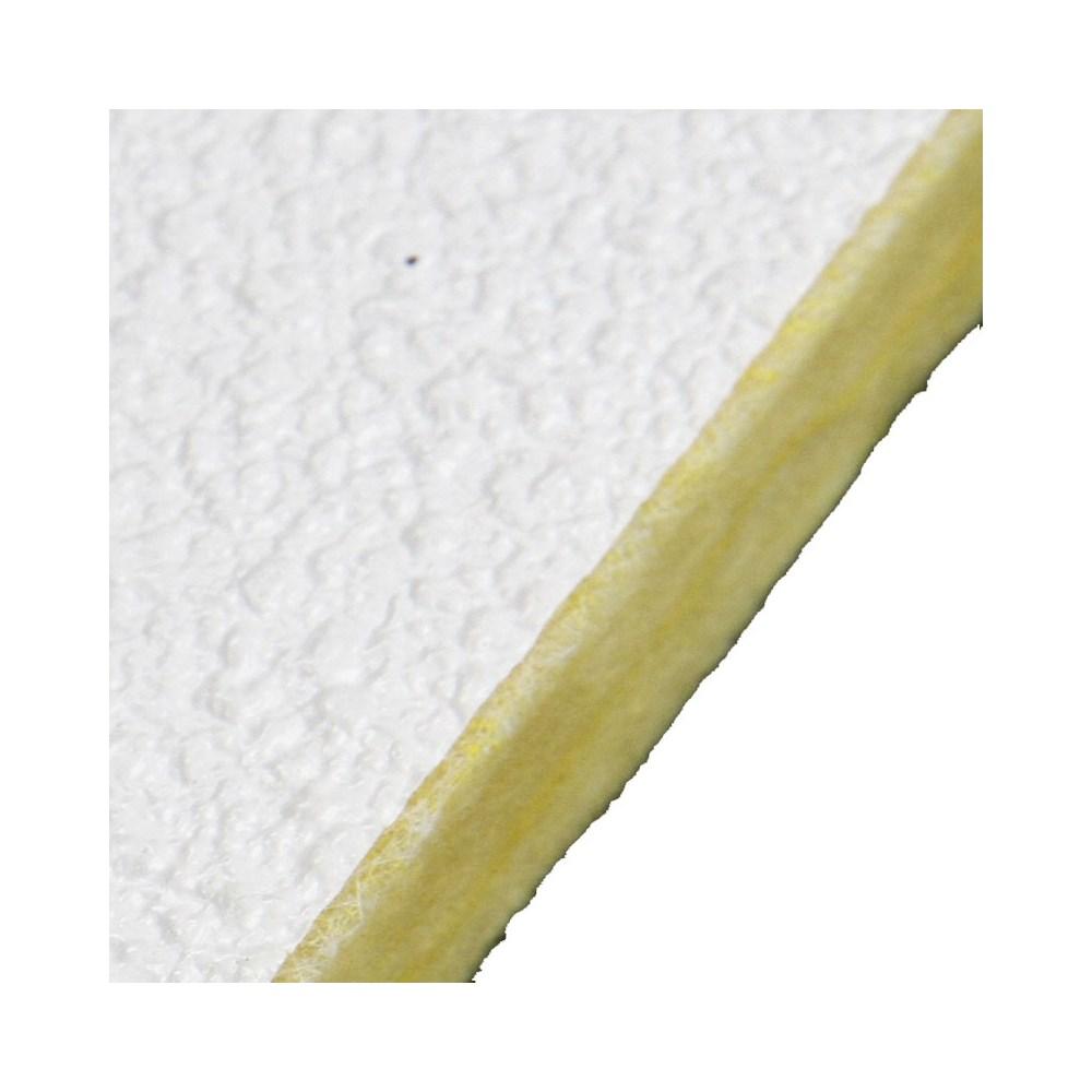 Forro Lã Vidro Forrovid Boreal Lay-in T24 20 x 1250 x 625 mm Isover (Caixa)
