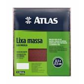 LIXA MASSA E MADEIRA GRÃO 120 -  ATLAS 10/120