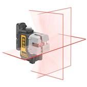 Nível Laser de linhas - Auto nivelador de Planos - DW089K - Dewalt