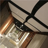 Nuvem Acustica Soundscapes Shapes Convexo 22 x 1220 x 1220mm Armstrong Ceilings