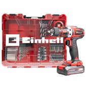 Parafusadeira e Furadeira a Bateria TE-CD 18-40 +69 Li 1 Bateria + Carregador + Kit Acess. Einhell