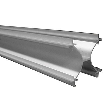 Perfil divisoria alum nio x mx 3550mm anodizado fosco - Perfil aluminio anodizado ...