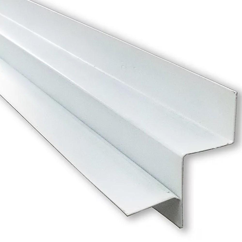 Perfil para Forro Drywall Tabica Lisa Branco 48 x 40 x 3000 MM