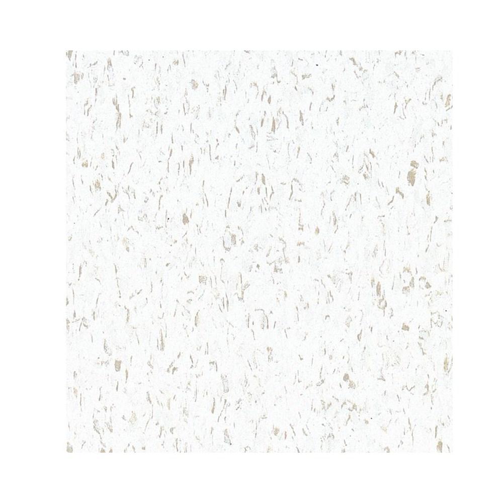 Piso Vinílico em Placa Excelon Imperial 51839 Fortress White 2 x 305 x 305mm (Caixa)