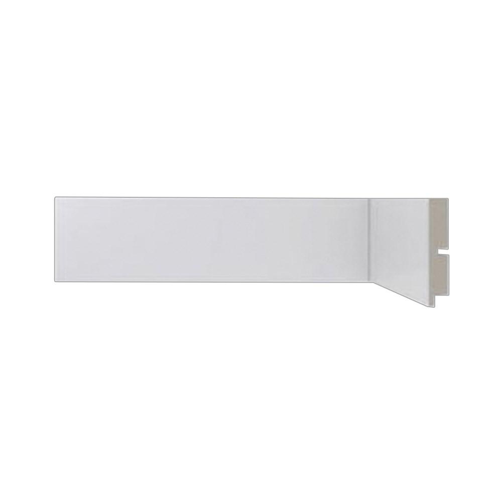 Rodapé Branco Liso 50x2400 MM - Mod. 473 - Cód. 24545 - Santa Luzia