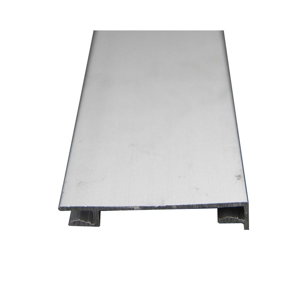 Rodapé/ Cavalete 1200 mm Alumínio Fosco