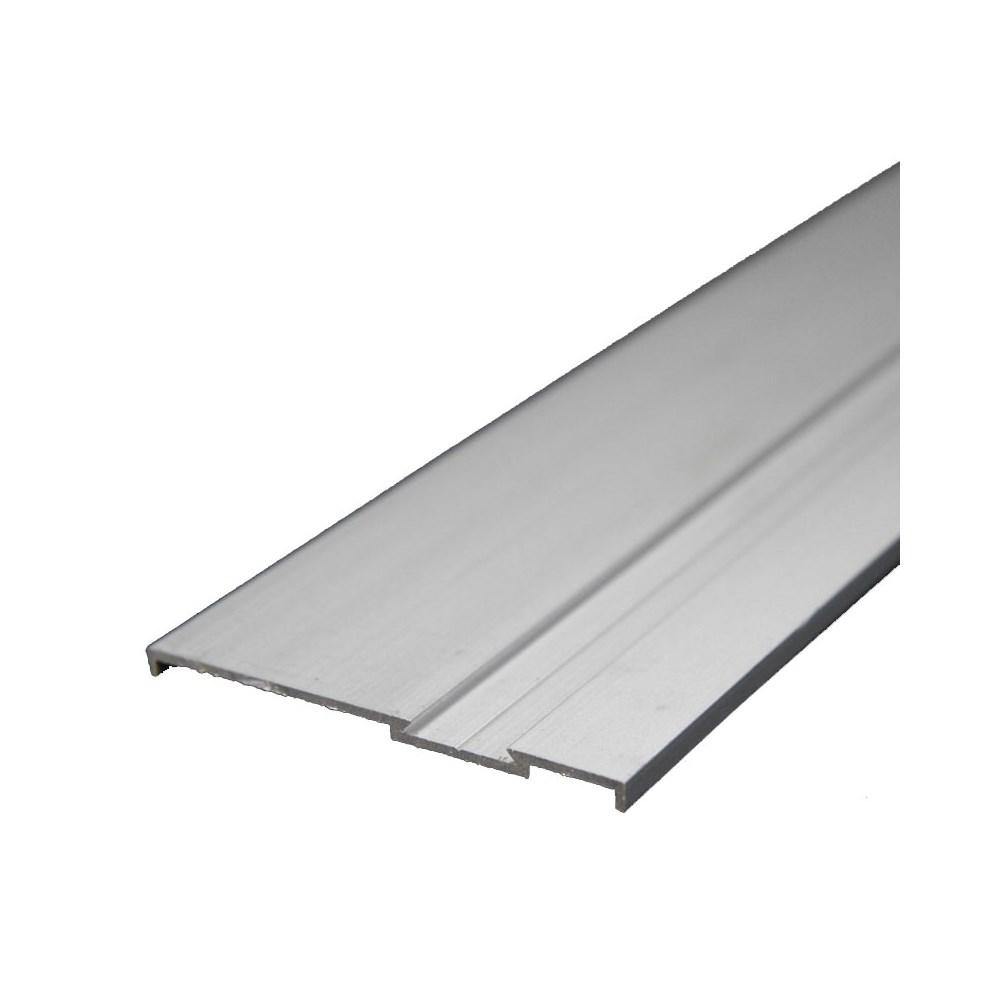 Rodapé/ Parafusar 6000 mm Alumínio Fosco