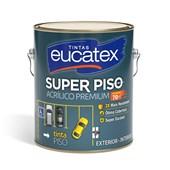 Tinta Acrílica Super Piso para Exterior e Interior Cinza Escuro 3,6L Eucatex Tintas