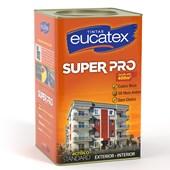 Tinta Acrílica Super Pro para Exterior e Interior Branco 18L - Eucatex Tintas